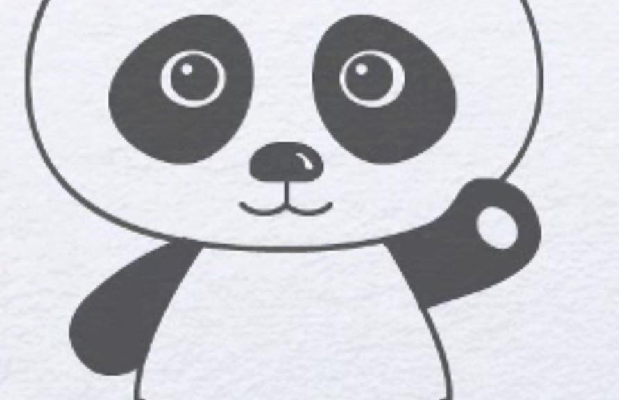 Як намалювати панду крок за кроком поетапно
