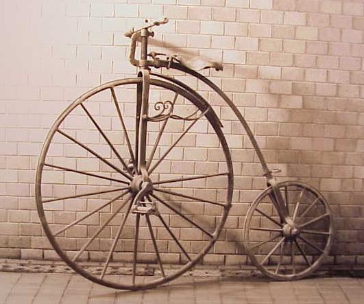 Цікаві факти про велосипеди - перші велосипеди