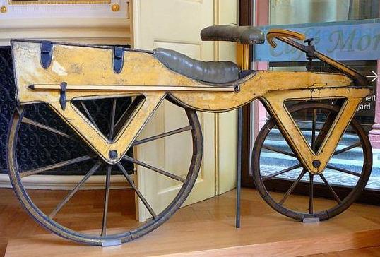 Хто винайшов велосипед