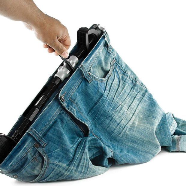 Як розтягнути джинси в талії за допомгою розширювача