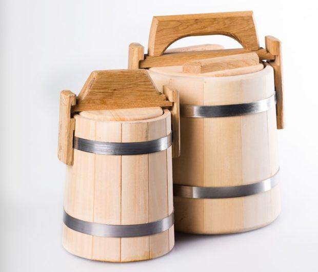 Дерев'яна тара для зберігання меду