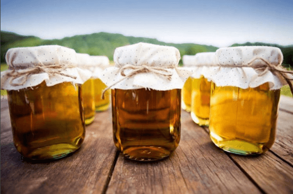 Як зберігати мед в скляній тарі