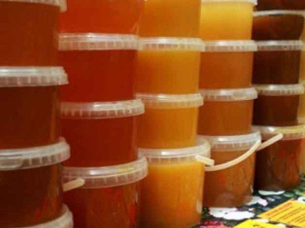 Пластикова тара для зберігання меду