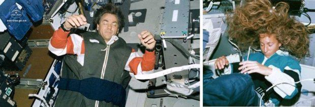Цікавинки про космонавтів