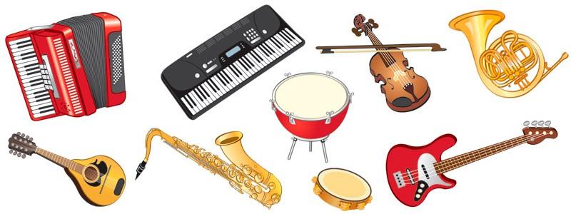 Загадки про музичні інструменти для дітей українською мовою